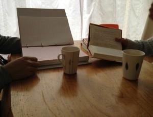 朝の勉強会スタート