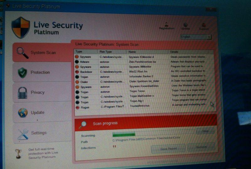 偽セキュリティーソフトにご注意。