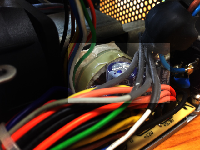 電源ユニットの修理
