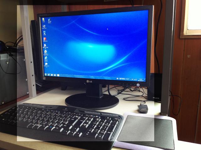 新規パソコンの納品